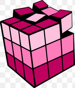 Rubik's Cube - Rubik's Cube Three-dimensional Space Clip Art PNG