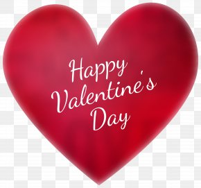 Happy Valentines Day - Valentine's Day Heart Love Clip Art PNG