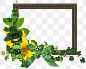 Design - Floral Design Picture Frames Flowering Plant Leaf PNG