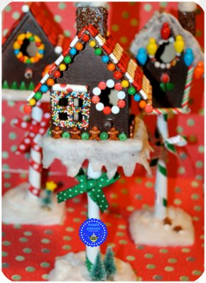 Gingerbread Christmas Star - Gingerbread House Candy Cane Christmas Ornament PNG