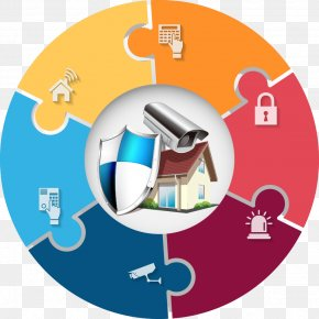 Vector Security Theme Charts - Safety House Security PNG