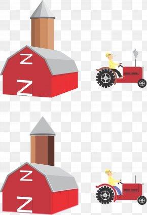 Farm - Silo Barn Farm PNG