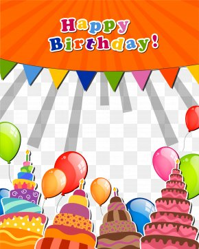 Happy Birthday Message Wall Message Board Background Vector - Wedding Invitation Happy Birthday To You Greeting Card PNG
