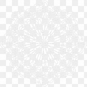 Circle - Circle White Symmetry Pattern PNG