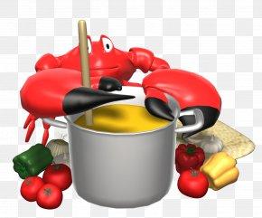 Soup Pot Cliparts - Crab Cake Animation Florida Stone Crab PNG