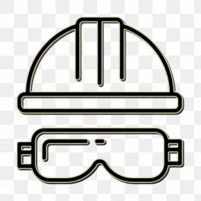 Vision Care Coloring Book - Carpenter Icon Helmet Icon PNG