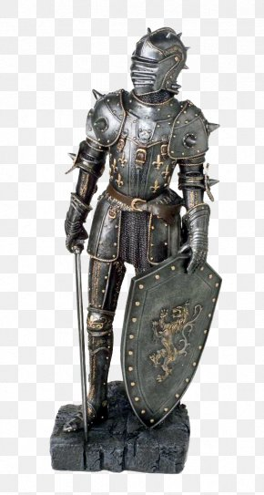 Knight - Middle Ages Knight Plate Armour Components Of Medieval Armour PNG