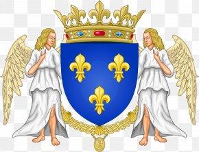 France - Kingdom Of France National Emblem Of France Coat Of Arms House Of Valois PNG