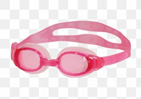 Swimming Goggles - Goggles Glasses Plavecké Brýle Swimming Pink PNG