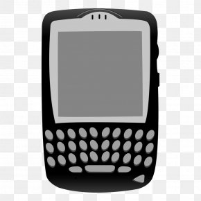 Vector Black Full Keyboard Phone - BlackBerry Storm 2 BlackBerry Tour BlackBerry Torch 9800 BlackBerry Pearl PNG