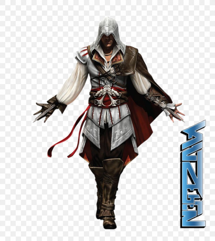 Assassin's Creed II Assassin's Creed: Revelations Assassin's Creed: Brotherhood Assassin's Creed Syndicate Ezio Auditore, PNG, 845x945px, Ezio Auditore, Action Figure, Assassins, Connor Kenway, Costume Download Free