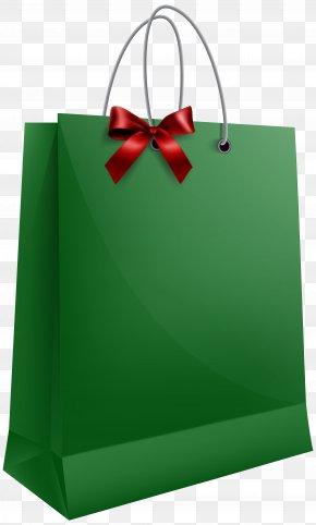 Green Present Cliparts - Santa Claus Gift Bag Clip Art PNG