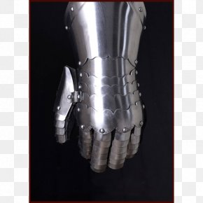Stainless Steel Middle Ages Glove Sheet Metal PNG