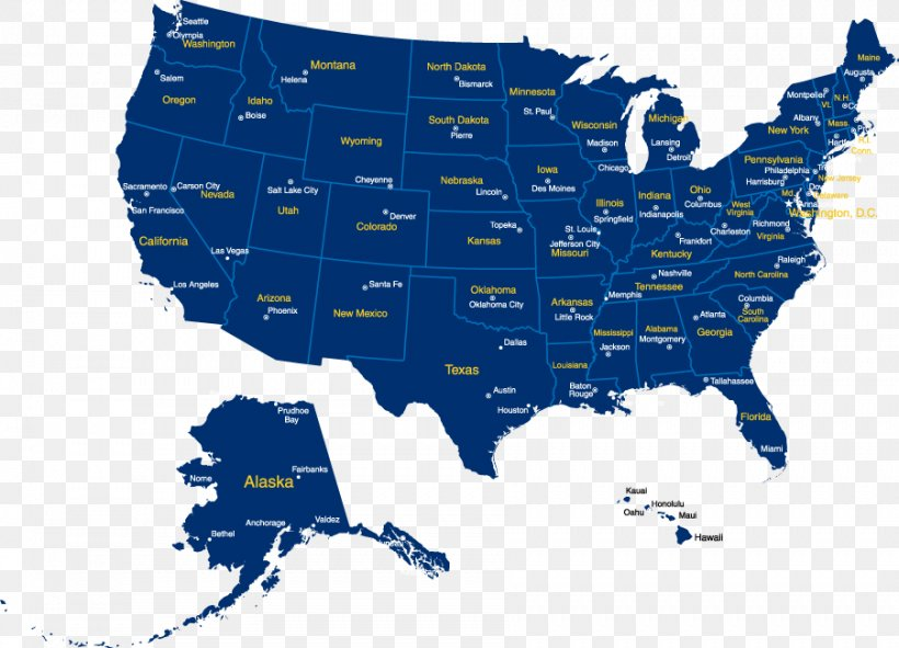 United States Vector Map Google Maps Png 902x651px United