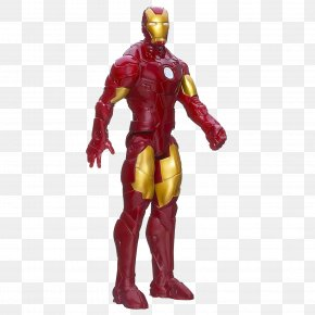 The Iron Man Standing - Iron Man Wolverine Captain America Thor Action Figure PNG