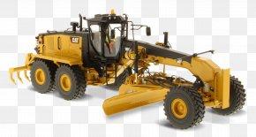 Caterpillar - Caterpillar Inc. Grader Die-cast Toy 1:50 Scale Machine PNG