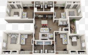 Real Estate Floor Plan - East Main Quarters Luxury Apartments House Studio Apartment Interior Design Services PNG