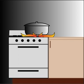 Stove Cliparts - Cooking Ranges Gas Stove Olla Clip Art PNG