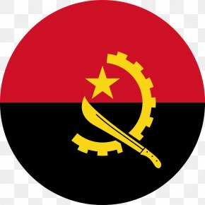 Sweaty Recruits - Flag Of Angola National Flag Flags Of The World PNG