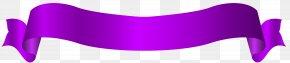 Long Purple Banner Transparent Clip Art Image - Las Vegas New Jersey Tagged Hashtag Bottle PNG