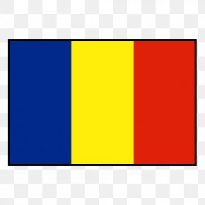 Flag - Romania National Under-17 Football Team Flag Of Chad PNG