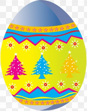 Easter - Easter Egg Tree Easter Bunny PNG
