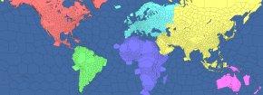 World Map - World Map United States Globe News PNG