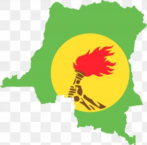 Independence Day - Flag Of The Democratic Republic Of The Congo Congo River Map PNG
