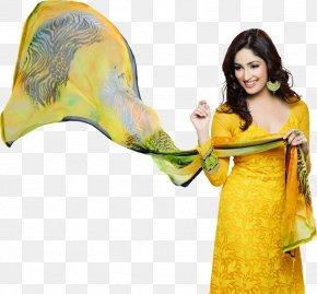 Bollywood - Shalwar Kameez Bollywood Suit Model Clothing PNG