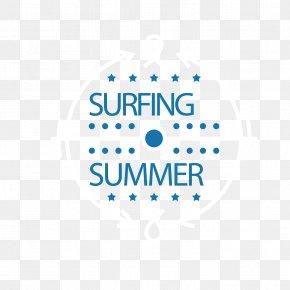 Great Surfing WordArt - Big Wave Surfing Illustration PNG