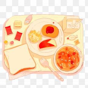 Vector Breakfast - Pixiv Bento Food Meal Illustration PNG