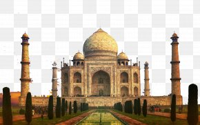 Taj Mahal, India's Construction - Taj Mahal Mahal, India Wonders Of The World Architecture PNG