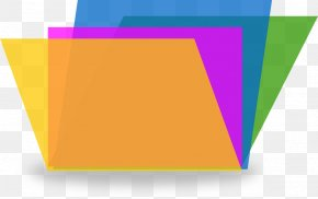 Stationary - Paper File Folders Document Clip Art PNG
