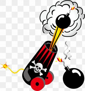 Vector Pirate Gunpowder Cannon Ammunition - Piracy Royalty-free Stock Photography Clip Art PNG