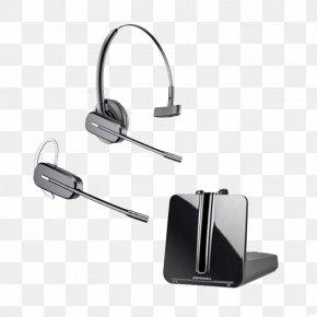 Bluetooth Wireless Headset - Xbox 360 Wireless Headset Plantronics CS540 Digital Enhanced Cordless Telecommunications PNG