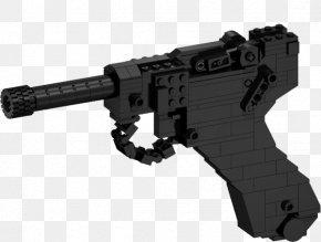 Handgun - Trigger Luger Pistol Firearm LEGO Mauser C96 PNG