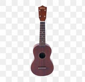 Brown Guitar - Ukulele Musical Instrument Steel-string Acoustic Guitar String Instrument PNG