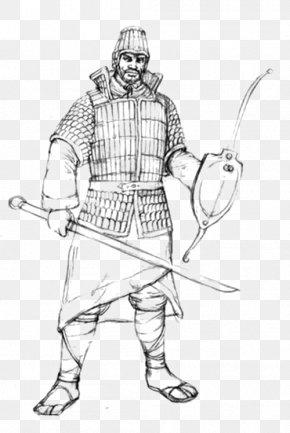 Military Hand Painted - Han Dynasty Hook Sword Shiming Weapon Ji PNG