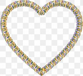 Jewellery Body Jewelry - Heart Yellow Body Jewelry Heart Jewellery PNG