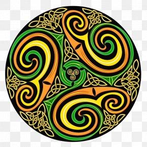 Visual Arts Yellow - Pattern Spiral Yellow Circle Visual Arts PNG