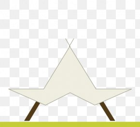 Teepee Tent - Triangle Diagram PNG