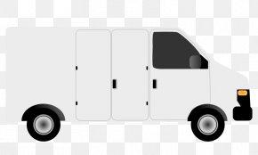 Van Cliparts - Ford Transit Courier Minivan Volkswagen Type 2 Clip Art PNG