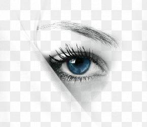 Blue Eyes - Eyelash IPhone X Beauty Woman PNG