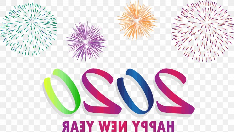 Happy New Year 2020 Happy 2020 2020, PNG, 3000x1699px, 2020, Happy New Year 2020, Event, Fireworks, Happy 2020 Download Free