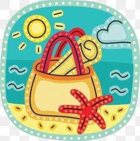 Vacation - Summer Vacation Beach Clip Art PNG