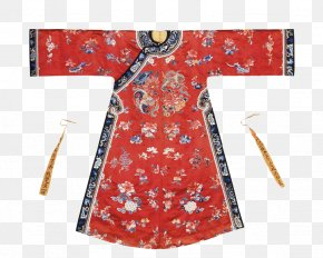 Qing Dynasty Red Dress - China Robe Victoria And Albert Museum Qing Dynasty Clothing PNG