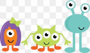 Cartoon Monster Cliparts - Monster Party Cookie Monster Clip Art PNG