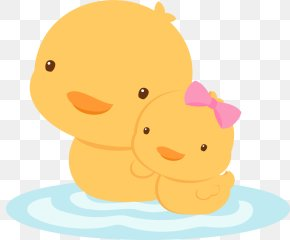 Animal Figure Ducks Geese And Swans - Baby Duck PNG