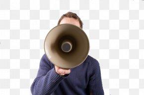Hand Speaker - Communication Social Media Information Business Marketing PNG