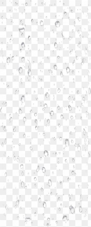 Water Drops Image - Black And White Point Angle Pattern PNG